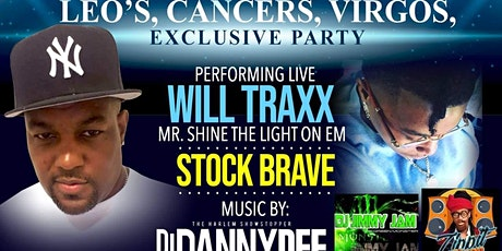 SHINE THE LIGHT ON EM  The Leo's Cancers Virgos Celebrity Party tickets