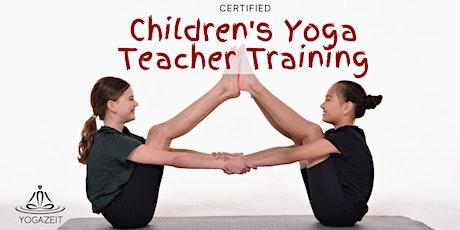 Certified Children's Yoga Teacher Training tickets