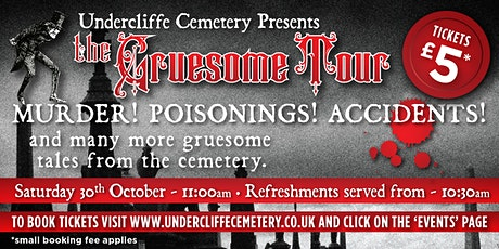 Gruesome Tour - Afternoon Tour tickets