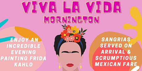 "'Viva La Vida"" - Frida Paint & Pour Mexican Extravaganza! tickets"