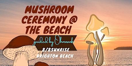 Mushroom Ceremony @ the beach tickets