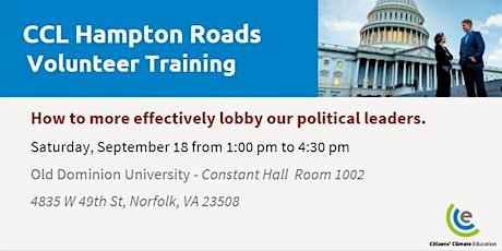CCL -Hampton Roads Volunteer Training tickets