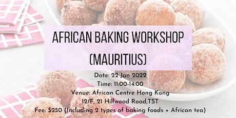 African Baking Workshop (Mauritius) tickets