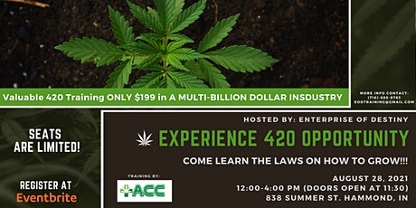 Experience 420 Opportunity tickets