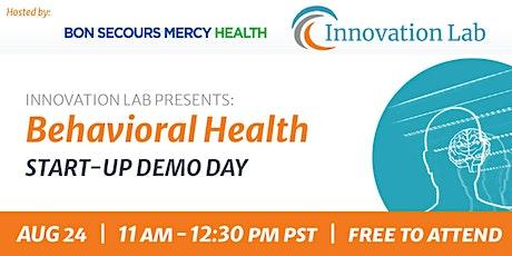 Startup Demo Day - Behavioral Health tickets