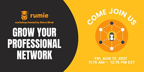 Grow Your Professional Network (Painlessly!) tickets