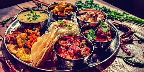 Part 5: Indian Cooking Masterclass by Aditi - Create your own Indian Thali tickets