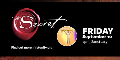 The Secret Movie showing at First Unity Spiritual Campus tickets