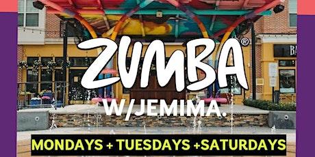 Zumba with Jemima tickets