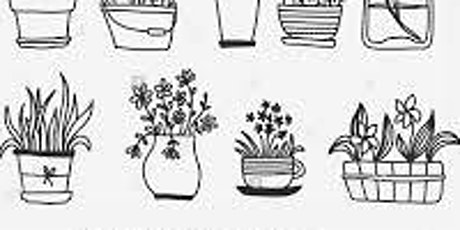 Doodling Plant Vases,  Class for Teens and Adults tickets