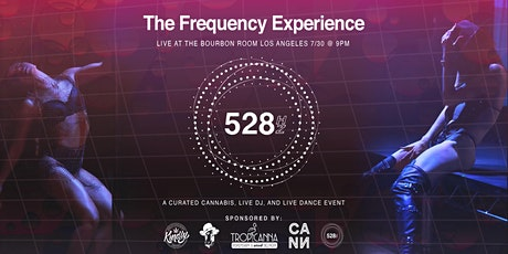 """528 """"THE FREQUENCY EXPERIENCE""""  at the Bourbon Room in Hollywood, CA tickets"""