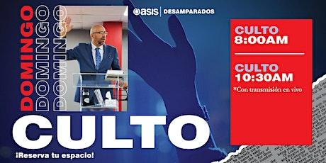 Culto Dominical |  01 de Agosto boletos