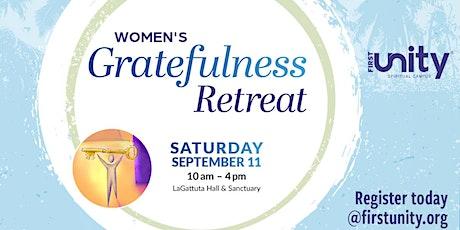 Women's Gratefulness Retreat tickets