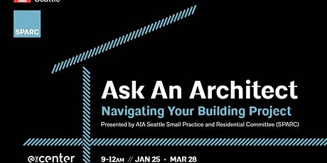 Ask An Architect - September 2021 tickets
