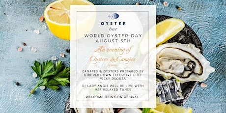 World Oyster Day Canape Evening tickets