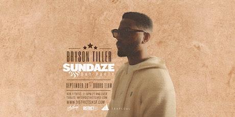 Sundaze Day Party Featuring Bryson Tiller tickets