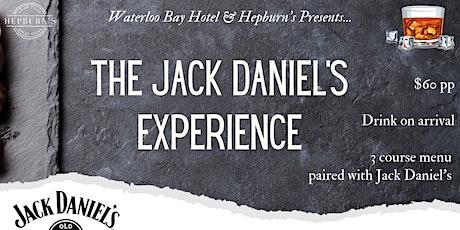 Jack Daniels Experience tickets