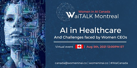 AI in Healthcare and Challenges faced by Women CEOs tickets
