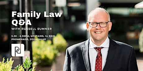 Family Law Q&A Joondalup - August 2021 tickets