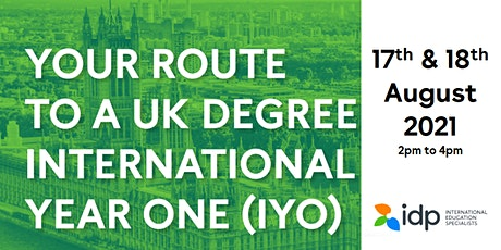 Your Route to a Top UK Degree - International Year One tickets