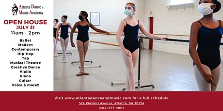 2021 Open House for Atlanta Dance & Music and CityDance, Inc. tickets