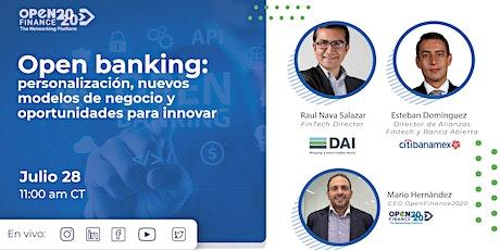 Open banking: personalización, nuevos modelos de negocio y oportunidades boletos