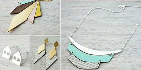 2021 Create and Make Workshop: Laser Cut Jewellery tickets