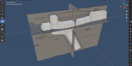 Intro To 3D Modeling In Blender 3D I tickets