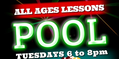 Billiards (Pool) Lessons ALL AGES tickets
