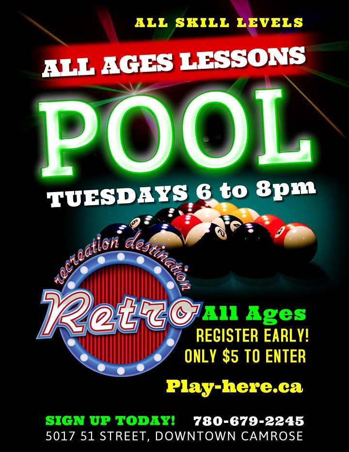 Billiards (Pool) Lessons ALL AGES image