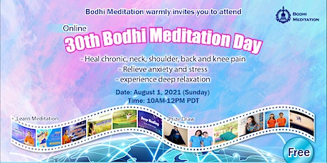 Walking& Sitting Meditation to Heal Body and Joint Pain; Relieve Stress tickets