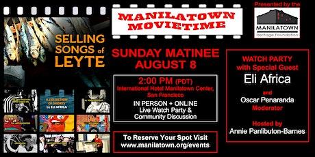 Manilatown MovieTime presents Eli Africa tickets