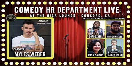Comedy HR Department LIVE! Concord, CA tickets