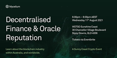 Sunny Coast Cryptocurrency and Blockchain Education tickets
