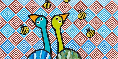 Artist floortalks: Banj Banj/nawnta, Drawn by stones & ALIWA! tickets