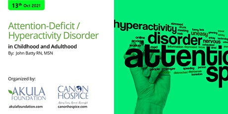 Attention-Deficit / Hyperactivity Disorder in Chil tickets