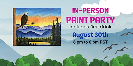 Paint Night: Eagle Landscape  @ Farmstrong Brewing tickets