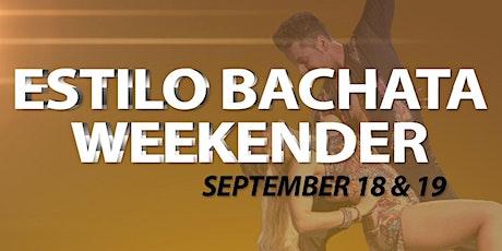 Estilo Bachata Weekender tickets