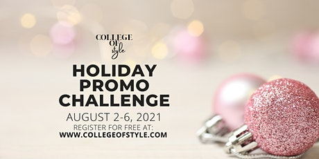 Holiday Promo Challenge tickets