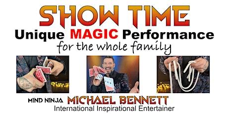 MIND NINJA MAGIC SHOW tickets
