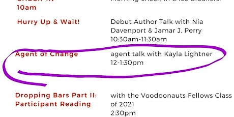 Agent of Change: Conversation with Kay Lightner of Ayesha Pande Literary tickets