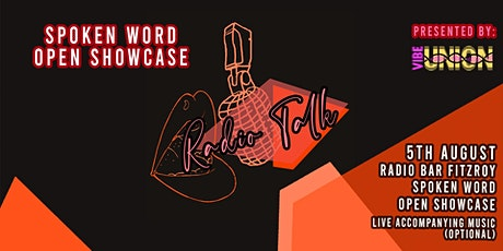 Radio Talk: Spoken Word Open Showcase @ Radio Bar tickets
