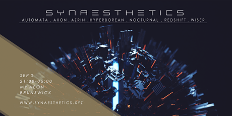 SYNAESTHETICS / / / Hyperborean / Nocturnal / Redshift +++ tickets