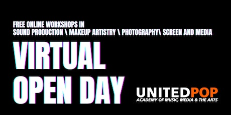 Virtual Open Day United Pop Melbourne tickets