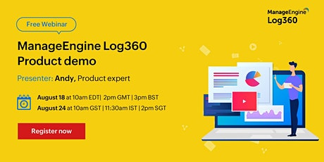 ManageEngine Log360 product demo tickets