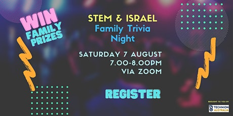 Israel and STEM Trivia Night tickets