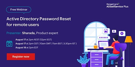Active Directory Password Reset for remote users tickets