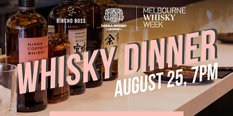 Melbourne Whisky Week: Bincho Boss - Nikka Whisky Dinner tickets