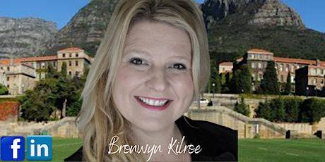 South African Zoom Hour - Bronwyn Kilroe tickets