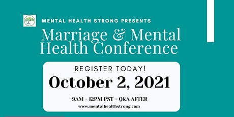 Marriage and Mental Health Virtual Conference tickets